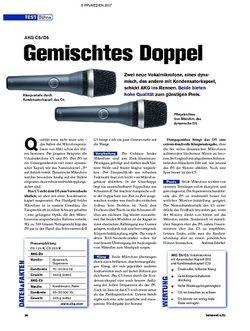 Tastenwelt Test: AKG C5 / D5 - Gemischtes Doppel