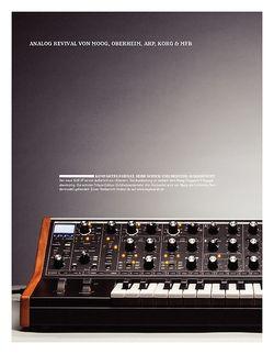 Keyboards Analog Revival von Moog, Oberheim, Arp, Korg & MFB