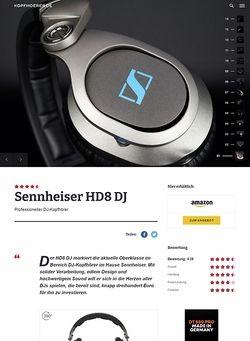 Kopfhoerer.de Sennheiser HD-8 DJ