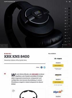 Kopfhoerer.de KRK KNS 8400