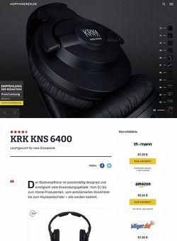 Kopfhoerer.de KRK KNS 6400
