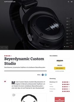 Kopfhoerer.de Beyerdynamic Custom Studio