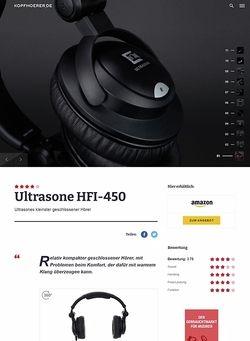 Kopfhoerer.de Ultrasone HFI-450