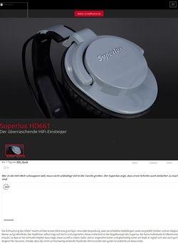 Kopfhoerer.de Superlux HD-661