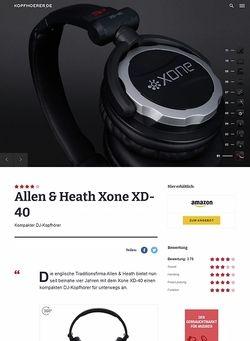 Kopfhoerer.de Allen & Heath Xone XD-40
