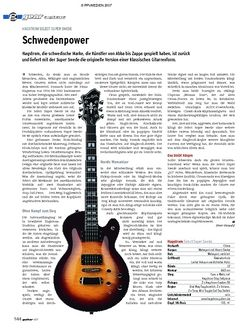 Guitar gear E-Gitarre - Hagstrom Select Super Swede