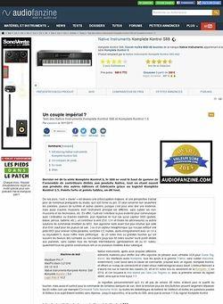 Audiofanzine.com Native Instruments Komplete Kontrol S88