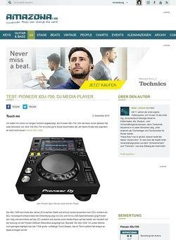 Amazona.de Test: Pioneer XDJ-700, DJ Media-Player