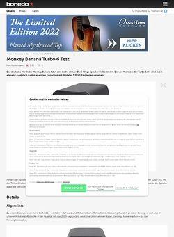 Bonedo.de Monkey Banana Turbo 6
