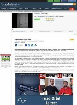 Audiofanzine.com Triad-Orbit Triad T3
