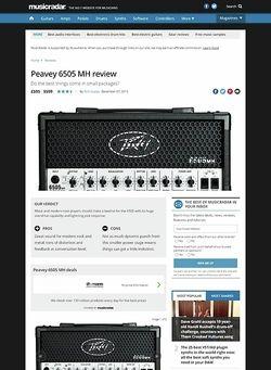 MusicRadar.com Peavey 6505 MH