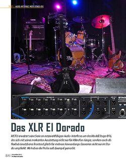 Professional Audio Motu Stage-B16