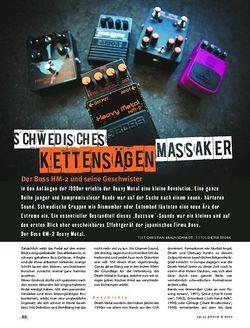 Gitarre & Bass Der Boss HM-2 und seine Geschwister