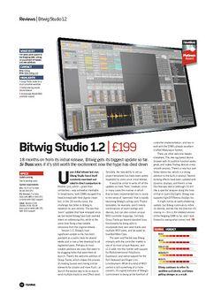 Future Music Bitwig Studio 1.2