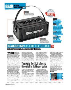 Total Guitar Blackstar Id:Core 40H Stereo