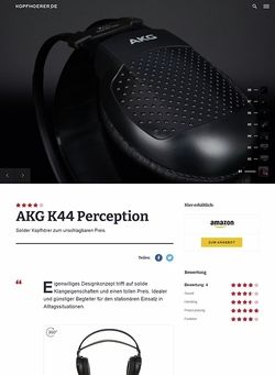 Kopfhoerer.de AKG K-44 Perception