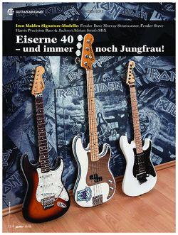 guitar Iron Maiden Signature-Modelle