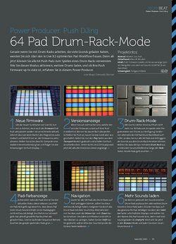 Beat Push DJing - 64 Pad Drum-Rack-Mode