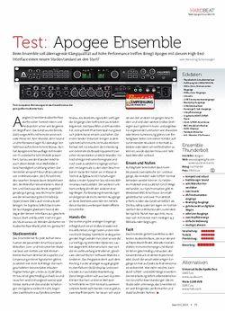Beat Apogee Ensemble