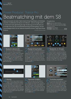 Beat Traktor Pro - Beatmatching mit dem S8