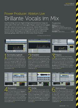 Beat Ableton Live - Brillante Vocals im Mix