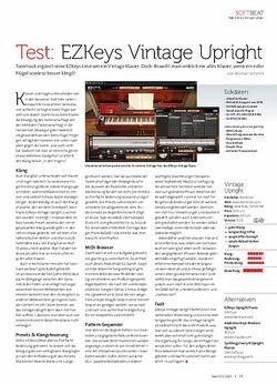 Beat EZKeys Vintage Upright