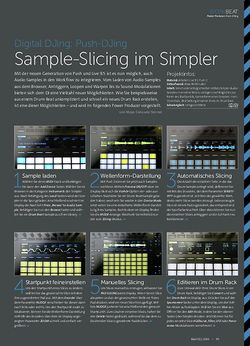 Beat Push-DJing - Sample-Slicing im Simpler