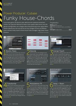 Beat Cubase - Funky House-Chords