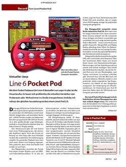 KEYS Test: Line 6 Pocket Pod