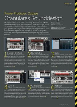 Beat Cubase - Granulares Sounddesign