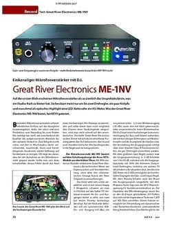 KEYS Test: Great River Electronics ME-1NV