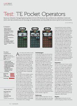 Beat Teenage Engineering Pocket Operators