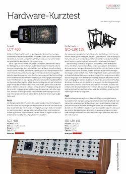 Beat Lewitt LCT 450 + IsoAcoustics ISO-L8R 155