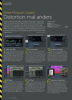 Beat Cubase - Distortion mal anders