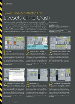 Beat Ableton Live - Livesets ohne Crash