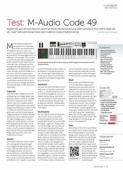 Beat M-Audio Code 49