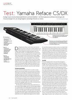 Beat Yamaha Reface CS/DX