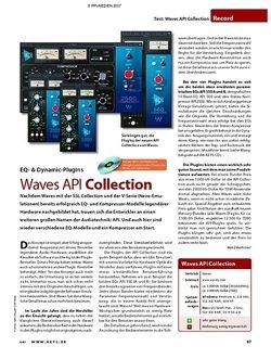 KEYS test: Waves API Collection