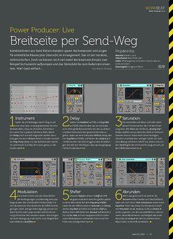 Beat Ableton Live - Breitseite per Send-Weg