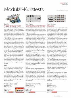 Beat Doepfer A-110-2 Basic VCO