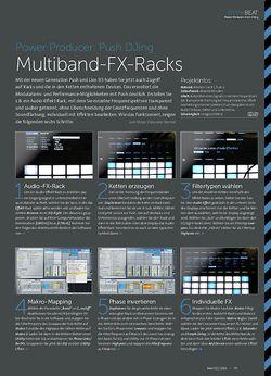 Beat Push DJing - Multiband-FX-Racks