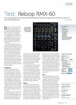 Beat Reloop RMX-60