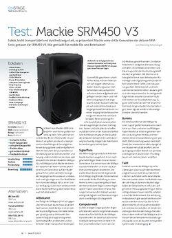 Beat Mackie SRM 450 V3