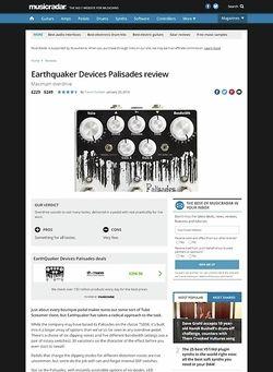 MusicRadar.com Earthquaker Devices Palisades