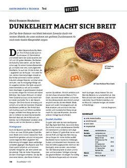 DrumHeads Meinl Byzance Neuheiten