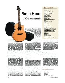 Gitarre & Bass PRS SE Angelus A15AL