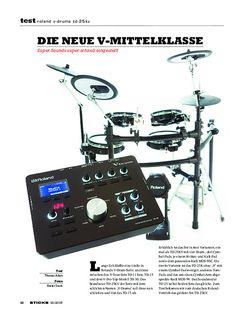 Sticks Roland V-Drums TD-25KV