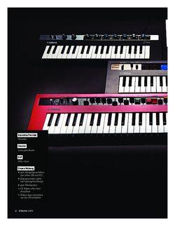 Keyboards Yamaha Reface Mini-Keyboards
