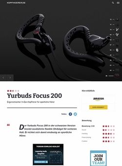 Kopfhoerer.de Yurbuds Focus 200 Black