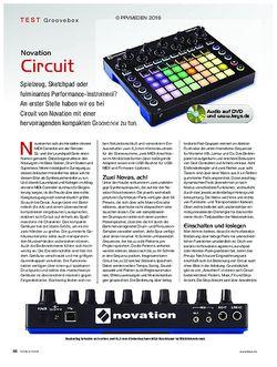 KEYS Novation Circuit